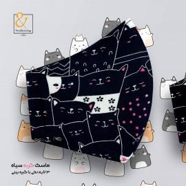 ماسک گربه مشکی جدید ۲